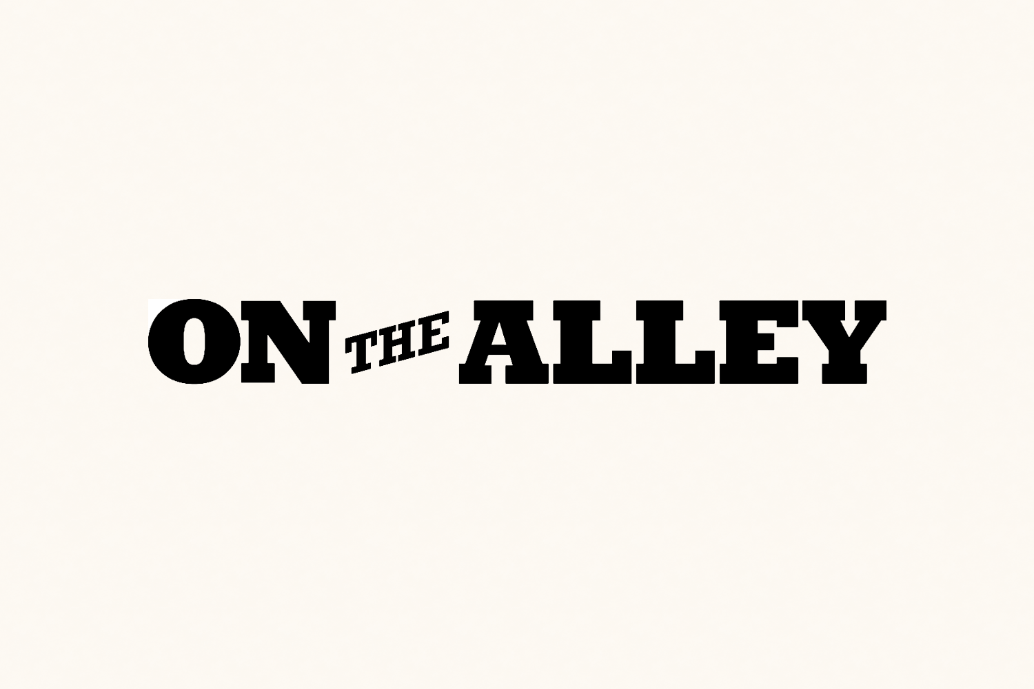 On The Alley